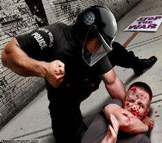 Police brutality speech