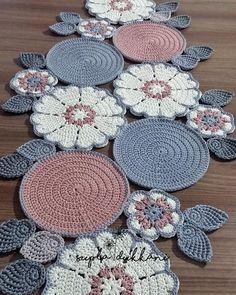 Crochet - Page 3 of 171 - Crochet and Knitting Patterns Crochet Round, Love Crochet, Crochet Motif, Beautiful Crochet, Irish Crochet, Crochet Designs, Crochet Doilies, Crochet Flowers, Crochet Stitches