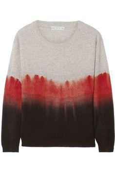 DagmarRenee ombre cashmere sweater
