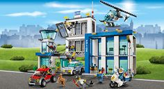 LEGO.com City Products - Police - 60047 Police Station