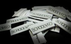 Schoolyard Clothing Tags!