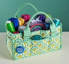 Annie Unrein's Catch-All Caddy Sewing Class