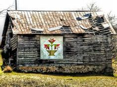 ... . . .: Carolina Lily Barn Quilt, Wilkes County, North Carolina
