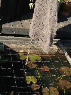 Ravelry: Nupped Waterlily Shawl or Scarf pattern by Gitte Wulff Jürgensen