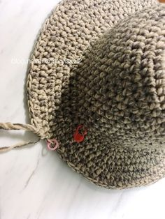 첫번째 니트 모자는 할무니 선물 드렸으니 이번엔 내꺼도 만들자! 코바늘 버킷햇 b03258011852