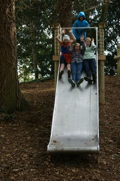 Double width slide [1m] for fabulous group fun that's so exciting