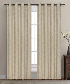 Warm Home Designs 1 Pair of Taupe Insulated Thermal Blackout Curtains with Grommet Top