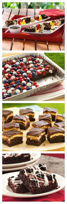 21 fudgy brownies perfect for sharing!