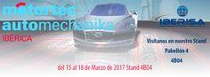 Os esperamos a todos en Motortec Automechanika del 15 al 18 de Marzo de 2017