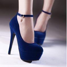 Preto vermelho azul sapatos de casamento matagal ferrolho sapatos de salto alto pequenos estaleiros 31 32 33 sapatos único plus size sapatos 42 43 sapatos alishoppbrasil