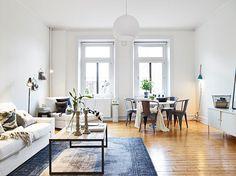 Vivienda de estilo escandinavo + industrial - Ana Pla - interiorismo y decoración