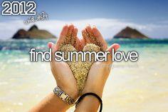 Find summer love