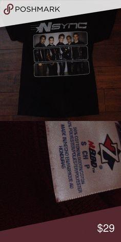 2001 nsync tshirt Classic (JCB) Tops Tees - Short Sleeve