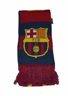 FC Barcelona Scarf Bar Maroon Red Blue Winter Lionel Messi By Rhinox   Rhinox  FCBarcelona 36b60bb87d1