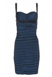 Quiz Navy Blue Taffeta Dress £39.99