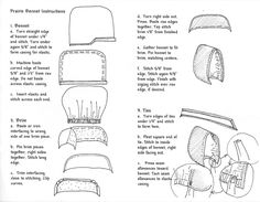 Little House Club Online: Instructions to make your own bonnet Sewing Hacks, Sewing Tutorials, Sewing Crafts, Sewing Projects, Quilting Projects, Sewing Ideas, Pioneer Costume, Pioneer Dress, Costume Patterns