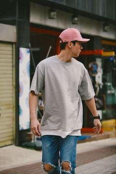 Peças em Tons de Rosa no Visual Masculino boné masculino rosa (14)