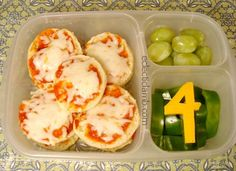 Starting 4th Grade - bagel pizza lunch
