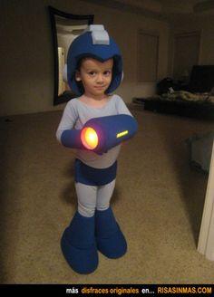 Disfraces originales: Megaman.