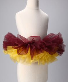 Take a look at this Maroon & Gold Tutu - Kids by Tutu Spirit on #zulily today!