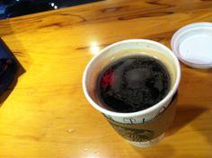 2014-02-03 스타벅스 아메리카노(톨사이즈) 헤이즐넛 시럽