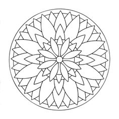 Mandala Coloring Pages for Children. 30 Mandala Coloring Pages for Children. Mandalas to Color for Kids Mandalas Kids Coloring Pages Mandala Design, Mandala Art, Mini Mandala, Simple Mandala, Mandalas Painting, Mandalas Drawing, Flower Mandala, Mandala Pattern, Dot Painting