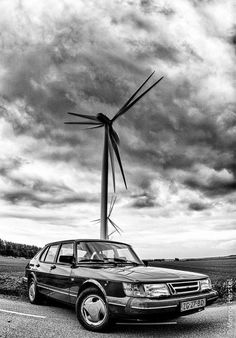 900 classic. Photo by Menno Herstel. Menno is one of the photographers of Saabberichten, the magazine of the Dutch Saab club.