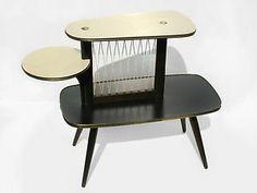 Original 50s Vintage Display German Multicolor Table Plant Stand Mid Century 34 | eBay