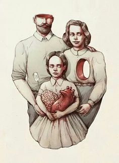 You have your father's brains and your mother's heart. By Marija Tiurina