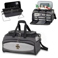 Picnic Time Buccaneer (Idaho Vandals) EmbroideredThe Buccaneer is a Picnic Time original design and the ultimate tailgating cooler and barbecue set in one! Don't be fooled by other similar looking ite
