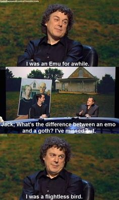 What's the difference between an emo and a goth?