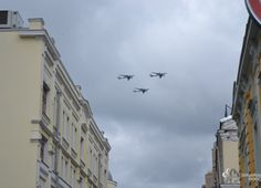 The first air-stage rehearsal of the Victory Day Parade has been held in Moscow…