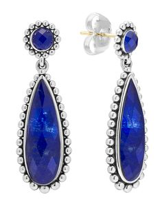 LAGOS Jewelry Maya Lapis Doublet Drop Earrings | LAGOS.com