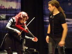 Marcela Bovio and Johan Van Stratum , Stream Of Passion - Female Metal Fest,Eindhoven 2015