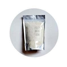 16 oz Peppermint + Eucalyptus Fizzy Bath Soak, Coconut Milk Mediterranean Sea Salts, invigorating energizing essential oil Atlantic sea kelp on Etsy, $20.20 CAD