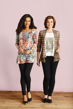 Be sure to check out all the new patterns and pics on our tees, tunics, and blouses!