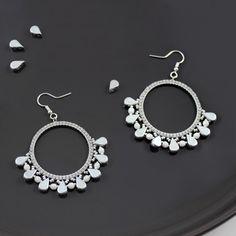 e275ca4f6db996 Orecchini con perle Amos® e Brick Stitch Miyuki Crochet Earrings, Beaded  Earrings, Drop