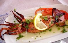 Greek food, thrapsala