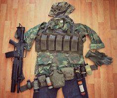#seal #reenactment #vietnamwar #czech #sealteamone #airsoft #erdl #xm177 #m203 #grenade