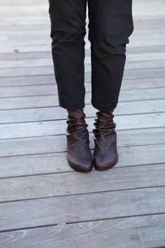 Leather Brown boots / Winter shoes /  Leather by WalkByAnatDahari, $349.00