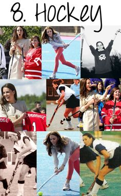 Kate Middleton played field hockey  so cool!!