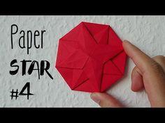 Como fazer uma Estrela de papel | Impressionante Origami Estrela # 4 - YouTube