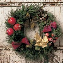 Christmas Wreath Making Party Sans Soucy Vineyards