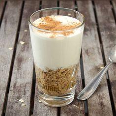 overnight oats Chai Latte