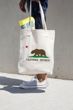 California Post Card Therapist Bag