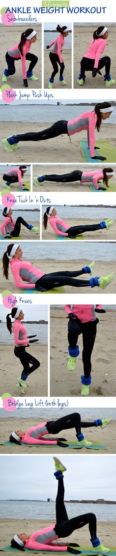 20-Minute Ankle Weight Workout   i should find other workouts for other weights