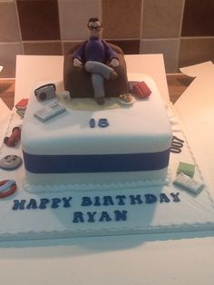 An 18th birthday cake complete with memories :)