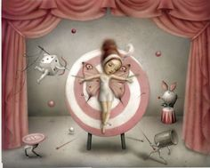 The Magician's Assistant - Nicoletta Ceccoli