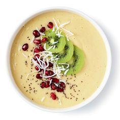Recette de bol smoothie coco, banane et mangue | .coupdepouce.com
