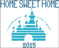of it's cross stitch it can also be count stitch crochet! disney crafts for adults #disney